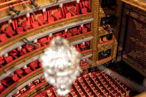 maquetas teatro español