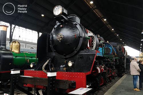 museo ferroviario madrid