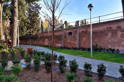 jardines parque bravo murillo