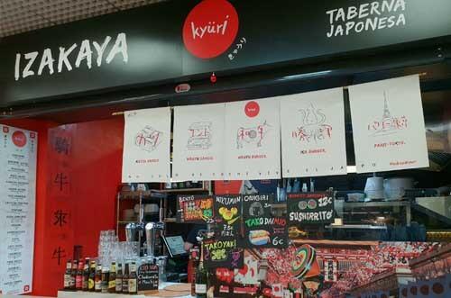 restaurante japonés izakaya kiury