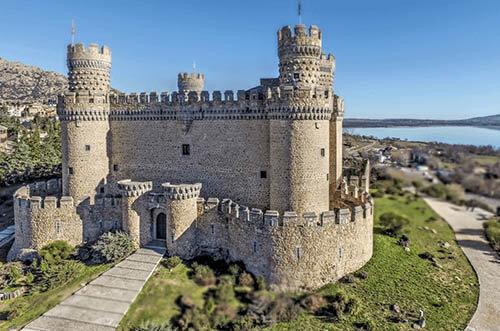 castillo manzanares el real