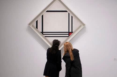 exposición mondrian - exposiciones madrid hoy