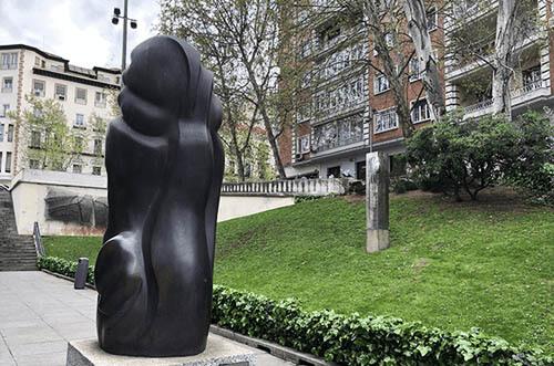escultura al aire libre