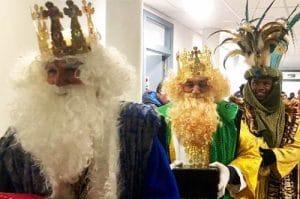 cabalgatas reyes magos madrid - cabalgata sanse