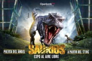saurios - exposición dinosarios madrid