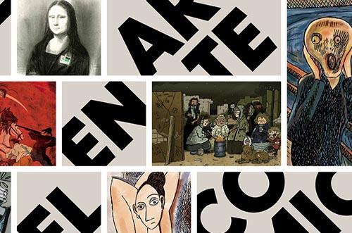 exposición el arte del comic