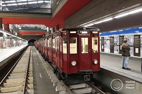 exposición trenes chamartín