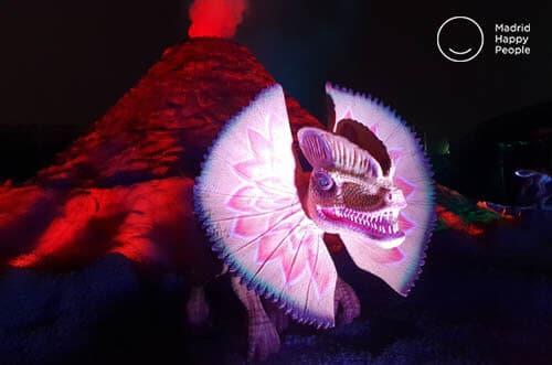 exposición dinosaurios madrid