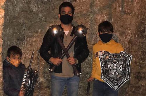 Escape room la cueva de Toledo