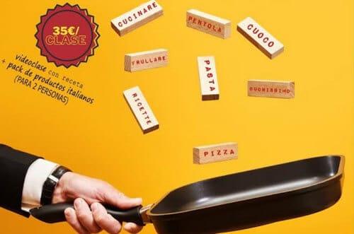lettere in padella curso cocina italiana cámara del comercio italiana
