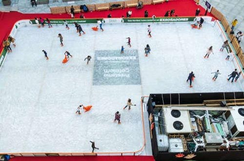 pista de hielo cibeles