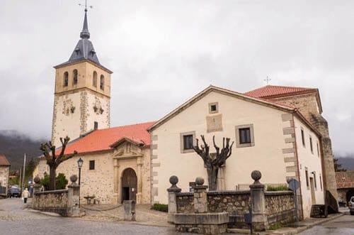 iglesia de San Andrés Apóstol Rascafría