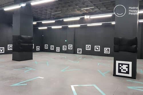 virtual game arena