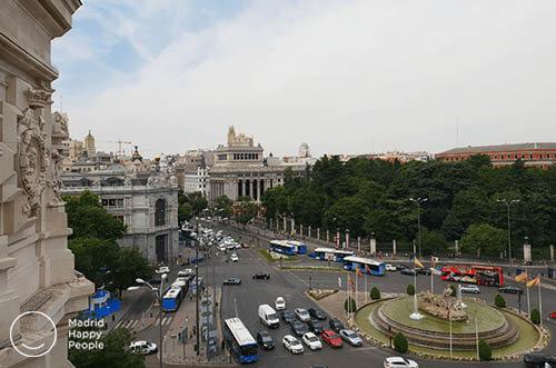 Terraza Cibeles miradores Madrid