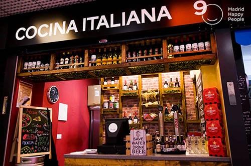 restaurante italiano casa vecchia barrio prosperidad