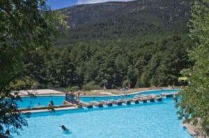 piscinas naturales cercedilla las berceas