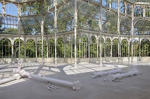 exposición actual palacio de cristal del retiro