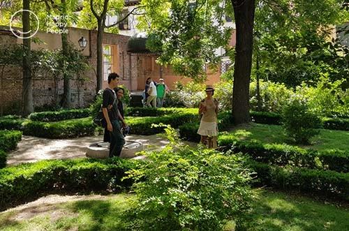 jardín del príncipe anglona - la latina - madrid