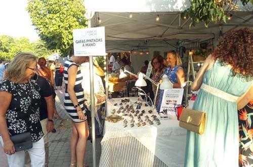 mercado del encanto - noches del botánico