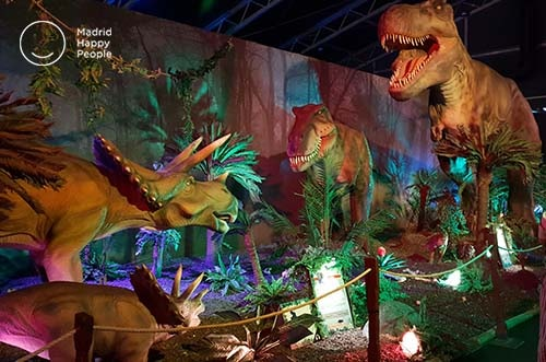 exposición dinosaurios madrid - dino world ifema