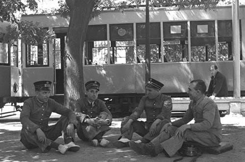 exposición Yo me bajo en la próxima. 150 años del tranvía en Madrid
