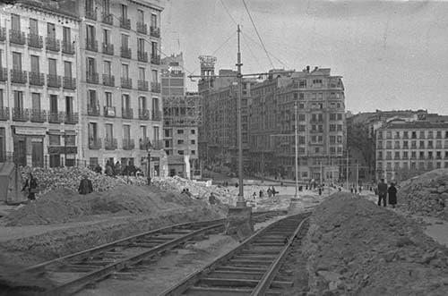 exposición 150 años del tranvía en Madrid