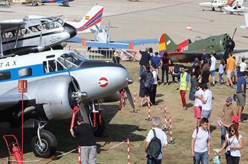 exhibiciones de vuelo Madrid - aviones históricos - Fundación Infante de Orleans