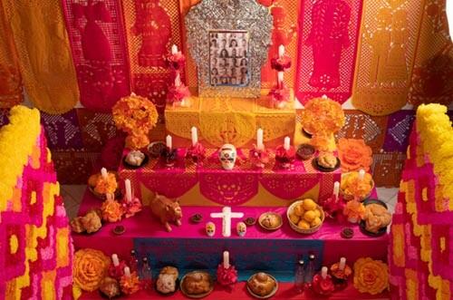 altar de muertos casa méxico madrid