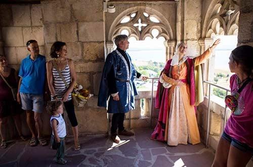visitas teatralizadas castillo manzanares el real
