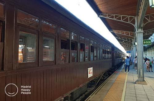 Tren de la Fresa - tren de aranjuez - trenes madrid - museo del ferrocarril