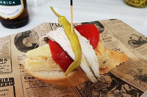 ruta de la tapa gourmet madrid - mercado de prosperidad