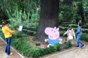 peppa pig real jardin botanico
